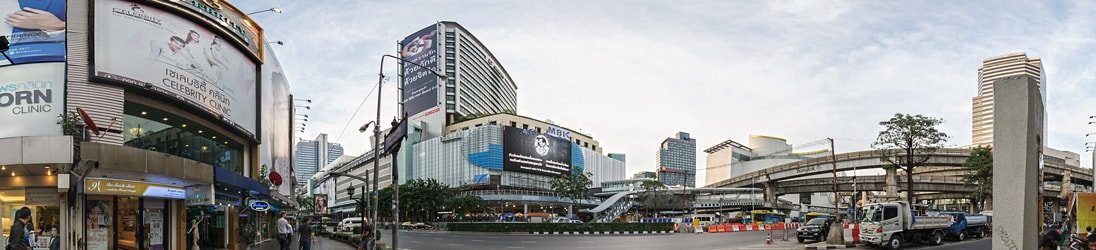MBK Center - Shopping Mall in Bangkok.