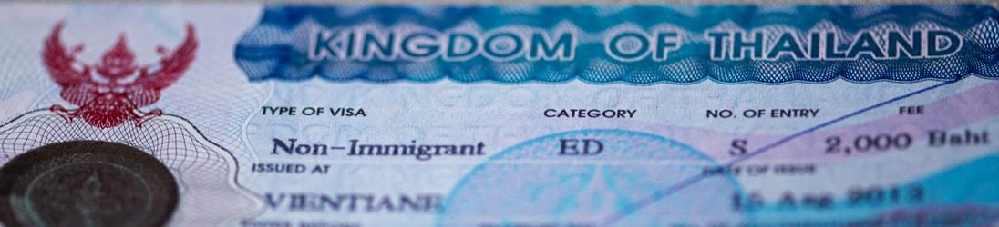 Non-Immigrant Visum Thailand