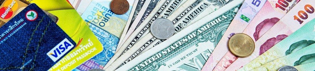 Thailand Geld - Thailändische Währung, Fremdwährungen und thailändische VISA-Karte
