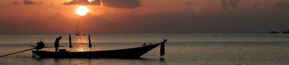 Versicherung Thailand - Sonnenuntergang auf Koh Tao