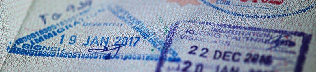 Visum on Arrival Thailand - Stempel im Reisepass