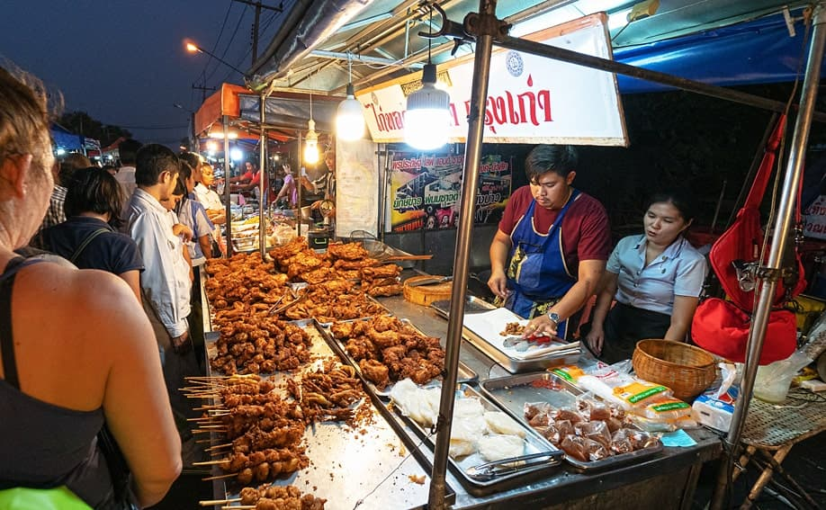 Ayutthaya Night Market.