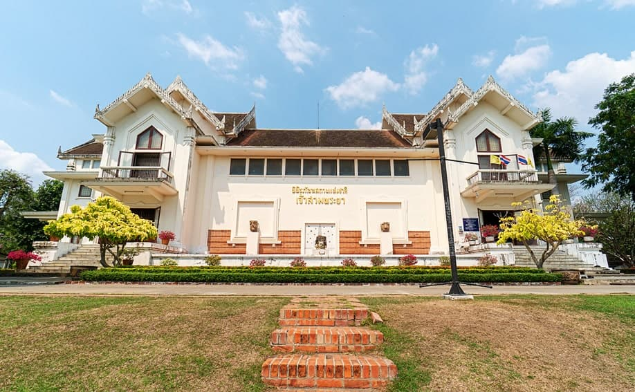 Das Chao Sam Phraya Nationalmuseum in Ayutthaya.