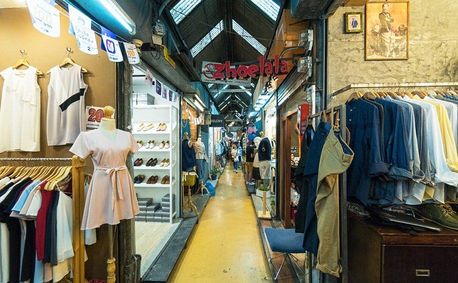 Chatuchak Weekend Market Bangkok - Paradies für Einkäufer