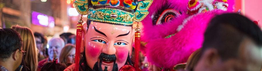 Chinesisches Neujahrsfest im Januar / Februar