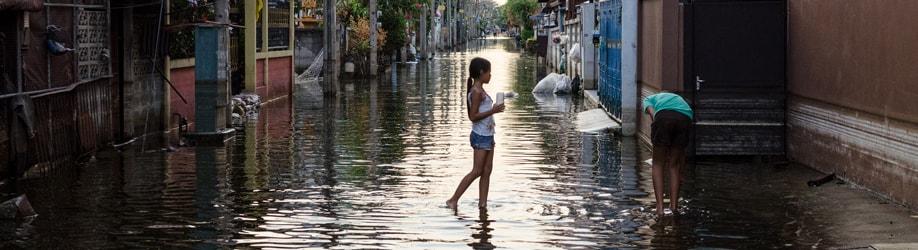 Hochwasser Thailand: das Klima im September