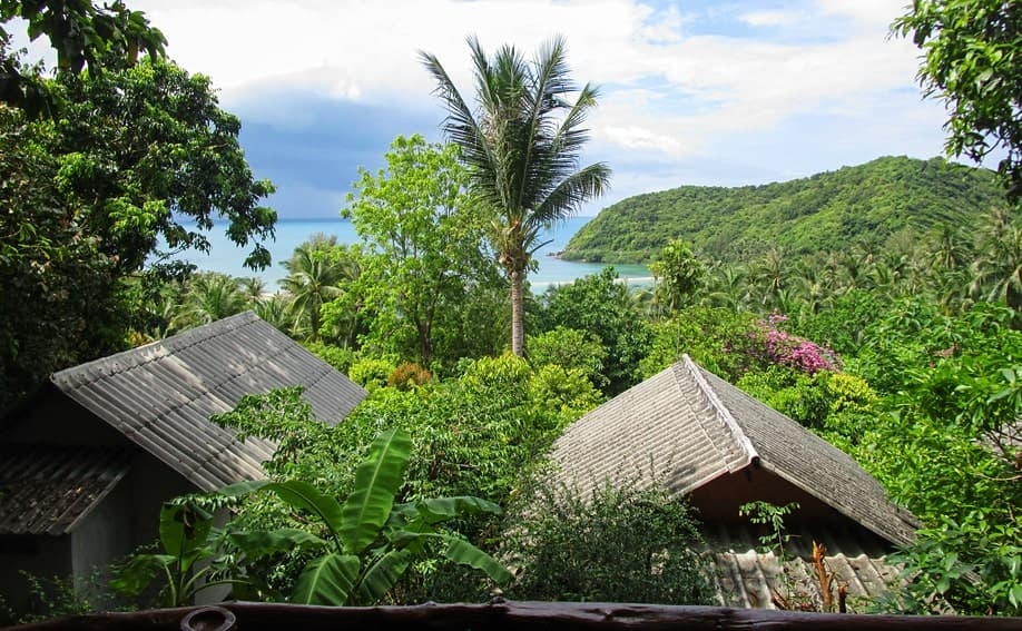 Why Not Seaview Bungalows Koh Phangan.