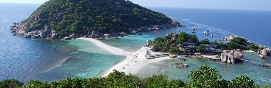Koh Nang Yuan Viewpoint.