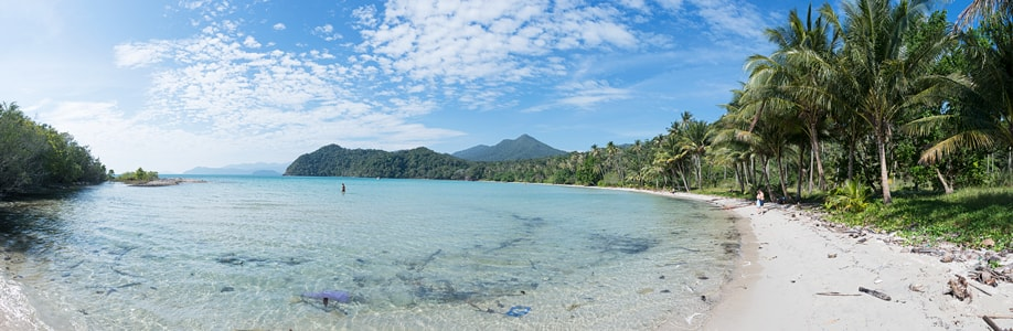 Der Long Beach auf Koh Chang