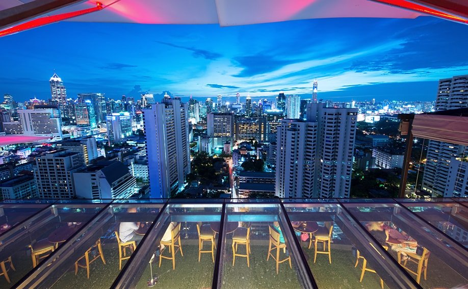 Sky Bar Bangkok - Das Above Eleven.