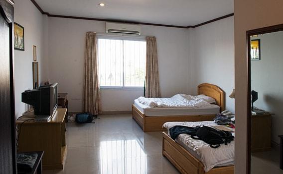 Thailand Hotel - Einfaches Zimmer