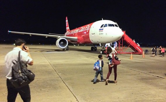Inlandsflüge Thailand - Air Asia Billigairline