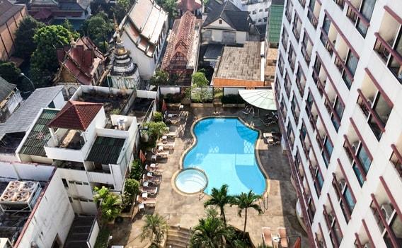 Hotels in Thailand - Mittelklassehotel