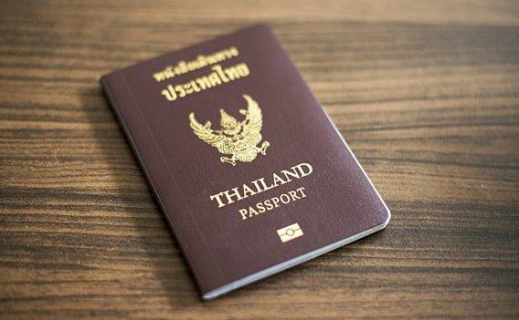Schengen Visum - Thailändischer Pass