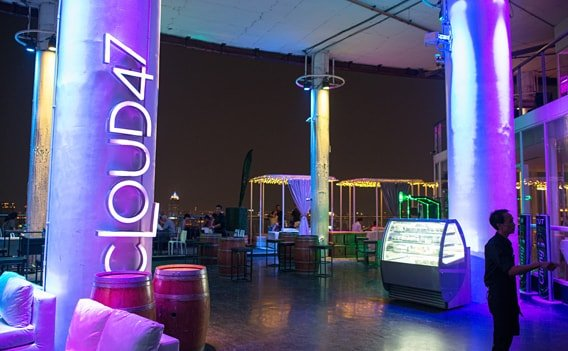 Cloud47 - Rooftop Bar in Bangkok.