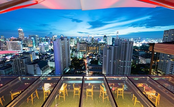 Sky Bar Bangkok - Rooftop Bar Above Eleven
