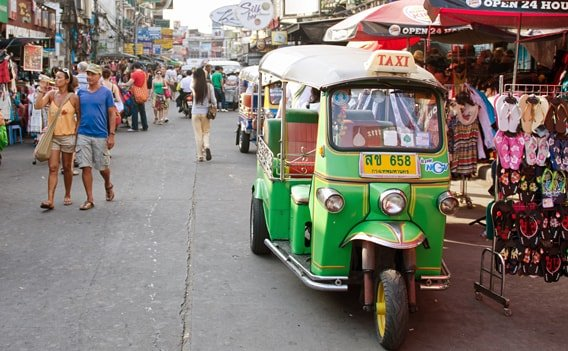 taxi bangkok preise tricks der fahrer flughafentransfer. Black Bedroom Furniture Sets. Home Design Ideas